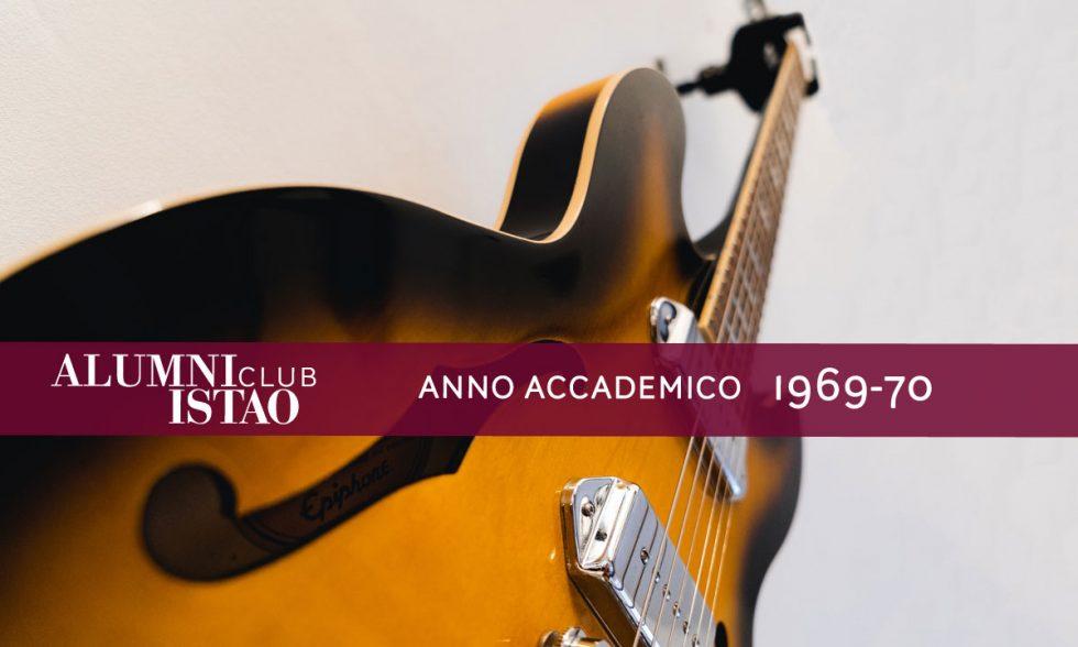 Alumni ISTAO nell'anno accademico 1969-70