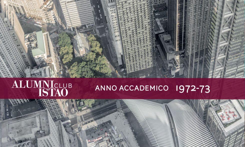 Alumni ISTAO nell'anno accademico 1972-73