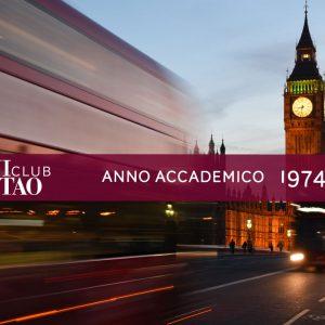 Alumni ISTAO nell'anno accademico 1974-75