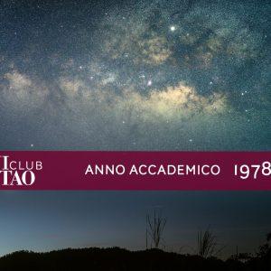 Alumni ISTAO nell'anno accademico 1978-79