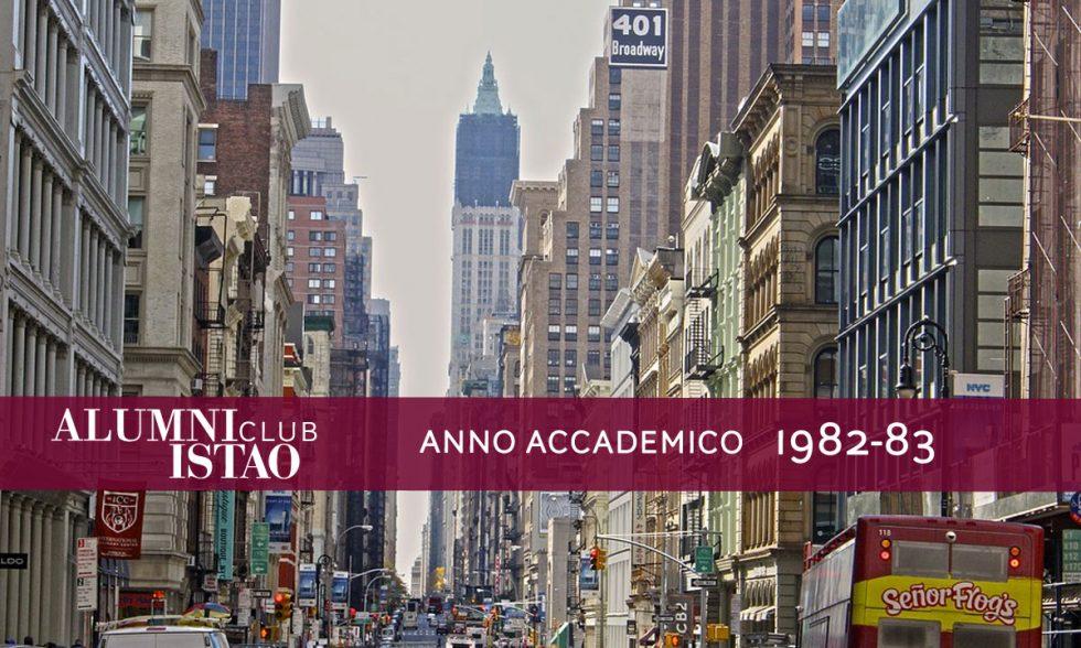 Alumni ISTAO nell'anno accademico 1982-83