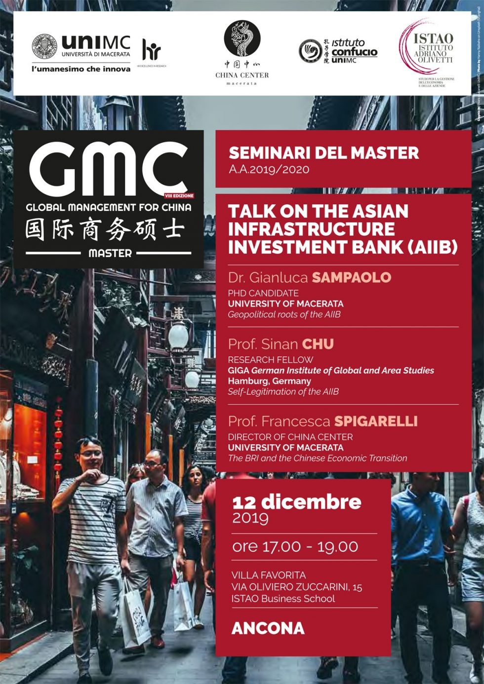 Talk on the Asian Infrastructure Investment Bank (AIIB)