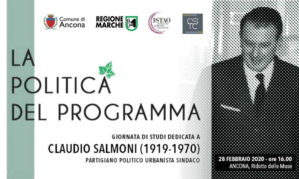 """RINVIATO IL CONVEGNO """"La politica del programma"""""""