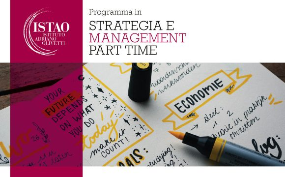 "Programma in ""Strategia e management part time"""