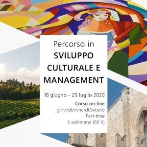 """Percorso in """"Sviluppo culturale e management"""""""