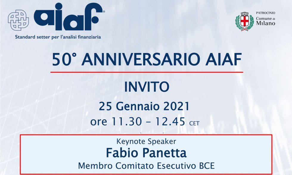 50° Anniversario AIAF