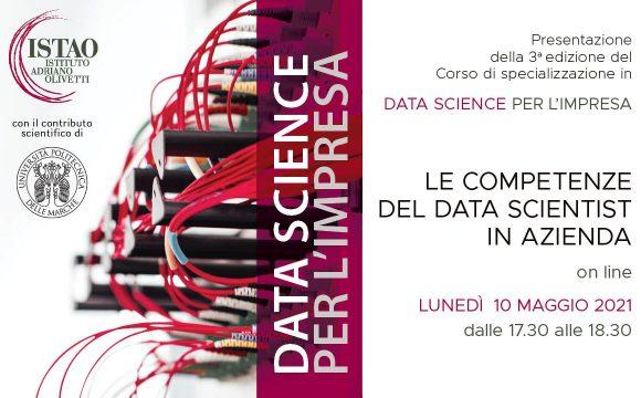 Le competenze del data scientist in azienda