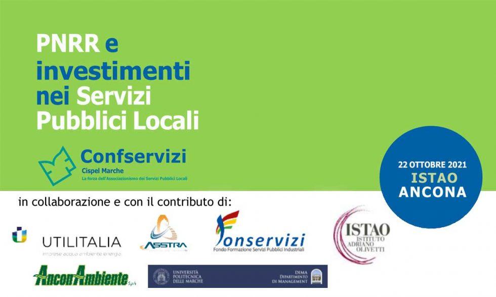PNRR e investimenti nei Servizi Pubblici Locali