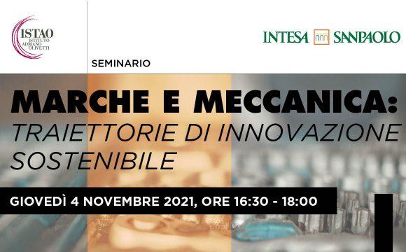 Marche e meccanica: traiettorie di innovazione sostenibile