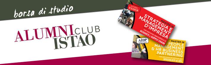 Borsa di studio Alumni club per sostenere la nuova generazione di studenti ISTAO