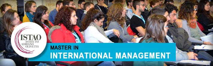 Master in International Management, 12ᵗʰ edition